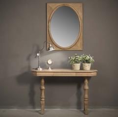 קונסולה מעץ אלון - וסטו VASTU - גלריית רהיטים מעץ מלא