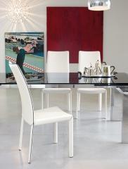 כסא לבן - נטורה רהיטי יוקרה