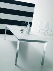שולחן לבן מלבני - נטורה רהיטי יוקרה