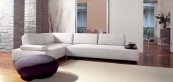 ספה לבנה ייחודית - נטורה רהיטי יוקרה