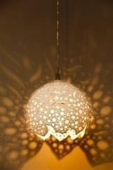 מנורת קרמיקה ונוס תליה  - ברק תאורה