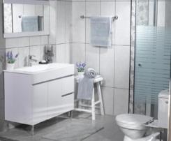 הגדול חדר אמבטיה במבצע מבית הום סנטר | הדירה - פורטל לעיצוב הבית AY-75