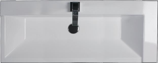 כיור קיר לבן - חלמיש