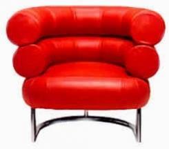 כורסא אדומה יוקרתית - נטורה רהיטי יוקרה
