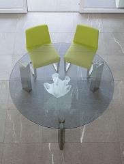 שולחן עגול - נטורה רהיטי יוקרה