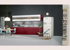 מטבח אדום לבן - מטבחי רגבה