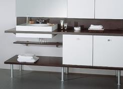 ארונות לאמבטיה בעיצוב מודרני - מטבחי רגבה