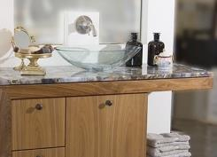 ארון לאמבטיה בעיצוב קלאסי - מטבחי רגבה
