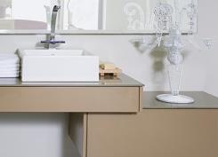 ארון אמבט שמנת - מטבחי רגבה