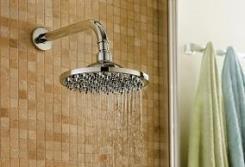 ראש מקלחת עגול  - חמת