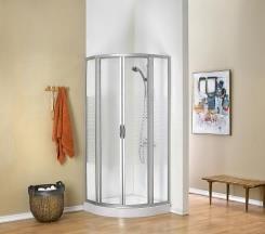 מקלחון פינתי מעוגל - חמת מקלחונים