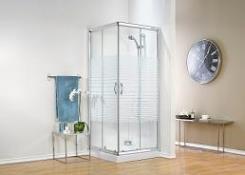 מקלחון פינתי מרובע - חמת מקלחונים