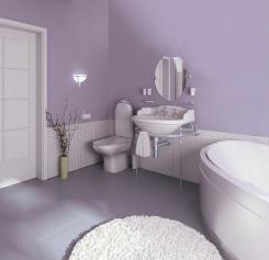 צבע לקירות בגוון סגול - נירלט