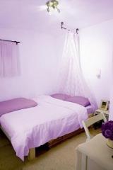 צבע קיר בגוון סגול  - נירלט