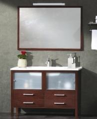 ארון אמבט דלתות זכוכית - חרסה