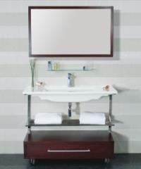 קונסולה עם ארון אמבט - חרסה