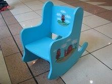 כסא נדנדה - אבירם מעשה בעץ