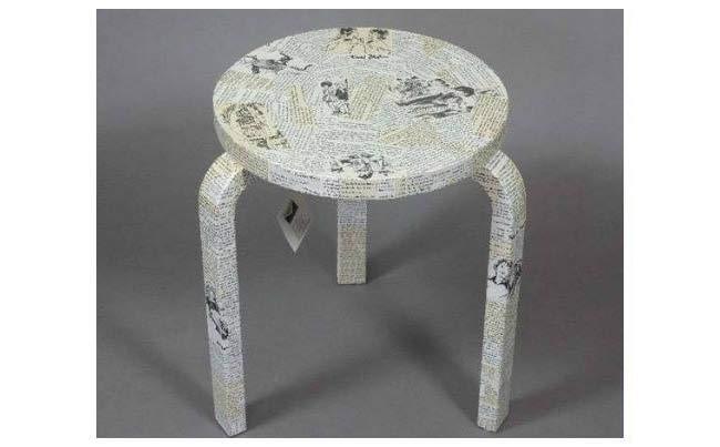 שולחן צד קטן - זהבי גלרייה לעיצוב