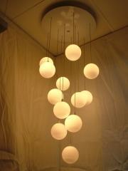 מנורת מובייל כדורי אופל - ברק תאורה