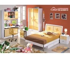 חדר ילדים לבן צהוב - היבואנים