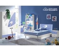 חדר ילדים סגול לבן - היבואנים