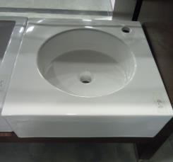 כיור אמבטיה מרובע - חלמיש