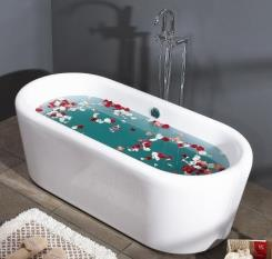 אמבטיה מונחת - חלמיש