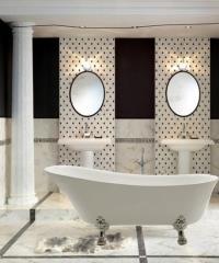 אמבטיה בעיצוב ענתיקה - חלמיש