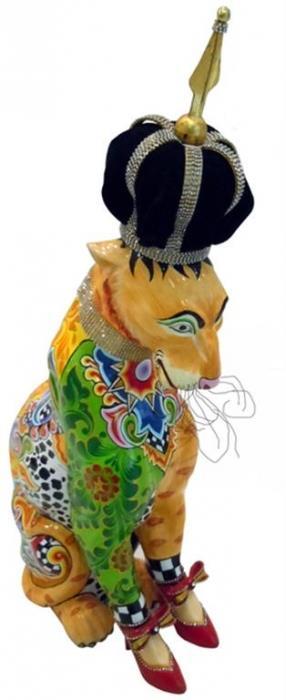 פסלון מלכת הנמרים - חלמיש