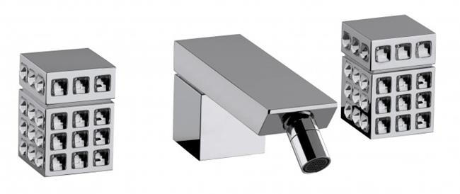 ברזים מעוטרים לאמבטיה - חלמיש