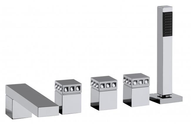 ברזים בעיצוב מרובע - חלמיש