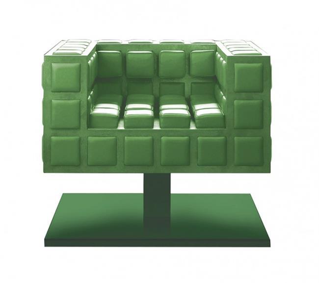 כורסה ירוקה - חלמיש