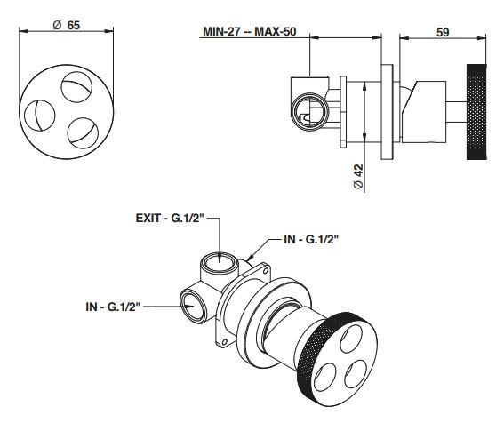 אינטרפוץ דגם 38524 - חלמיש