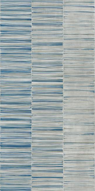 טפט פסים כחולים 2301005-6 - חלמיש