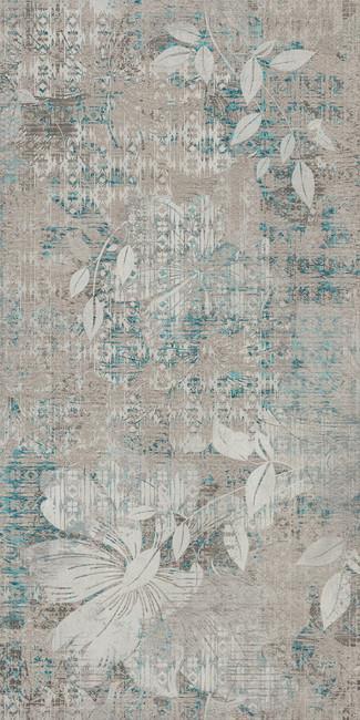 טפט פרח אפור 2301005-4 - חלמיש