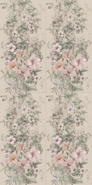 טפט פרחים  2301006-4 - חלמיש