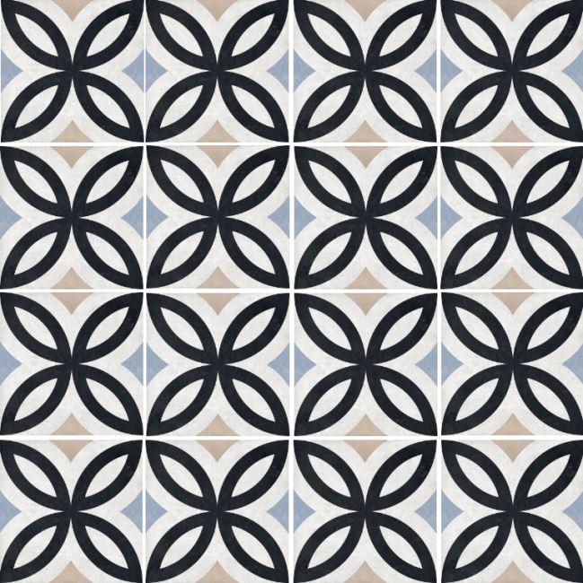 פורצלן גאומטרי עלים 1012066 - חלמיש