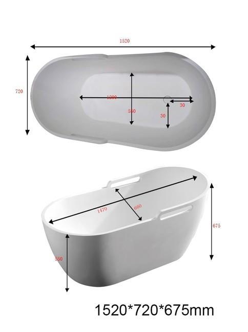 אמבטיה - דגם BT155-11 - חלמיש