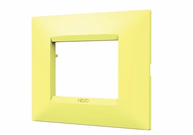 מסגרת צהובה למתגים - ניסקו NISKO