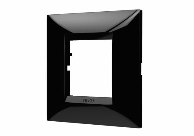 """מסגרת שחורה לקופסת 60 מ""""מ - ניסקו NISKO"""