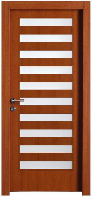 דלת דובדבן בציפוי למינטו - דלתות חמדיה