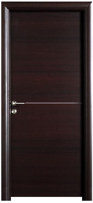 דלת ונגה פס אלומיניום - דלתות חמדיה