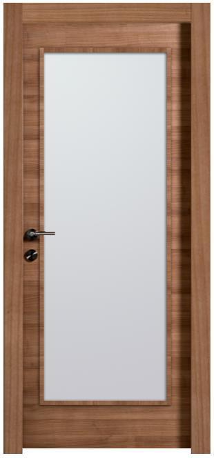 דלת מרבלה עם צוהר גדול - דלתות חמדיה