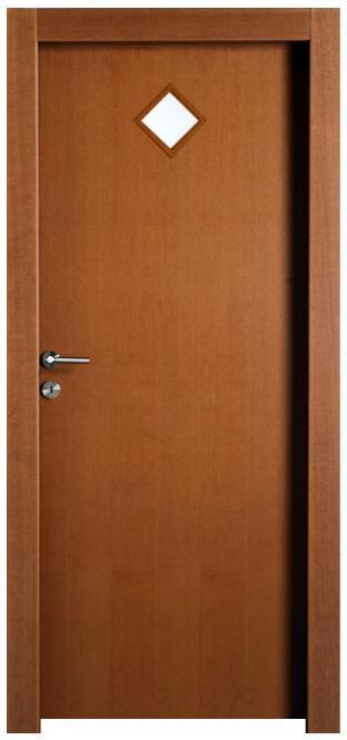 דלת פורניר חומה - דלתות חמדיה