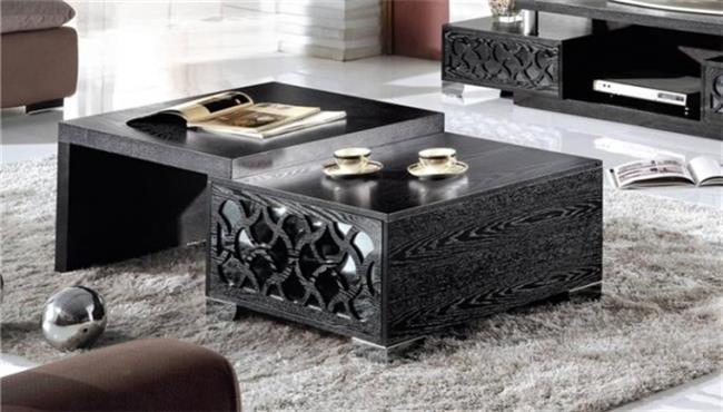שולחן סלוני שחור - היבואנים