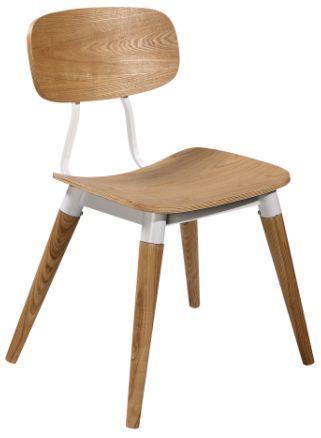 כסא עץ מלא מעוצב - היבואנים