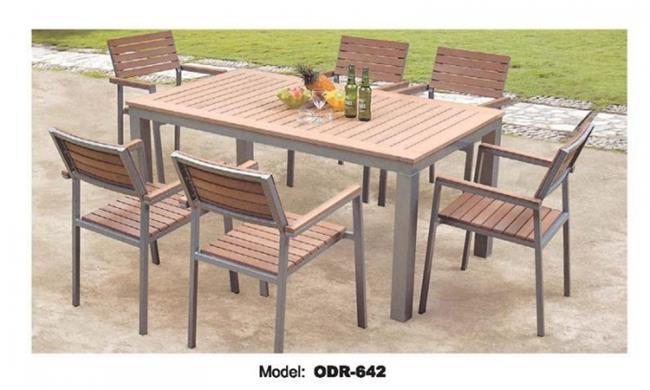 שולחן עץ לחצר - היבואנים