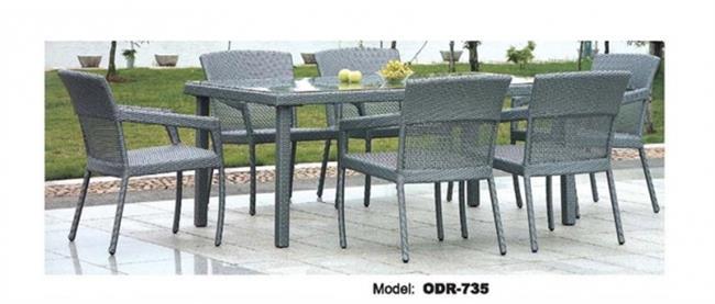 שולחן ראטן מעוצב - היבואנים