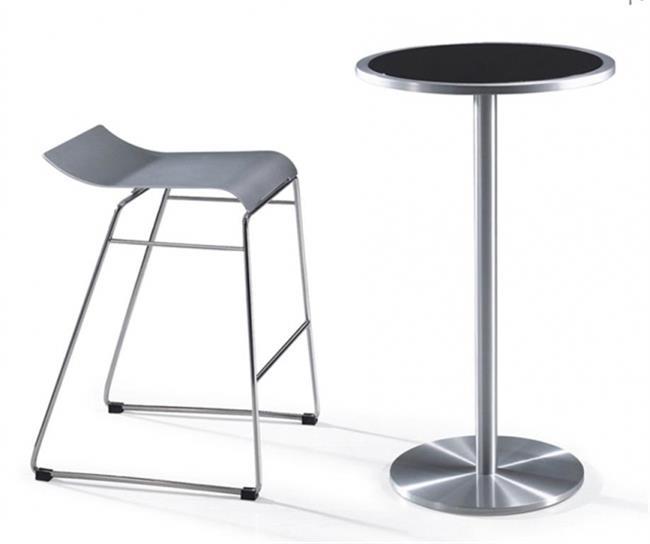 שולחן בר אלומיניום - היבואנים