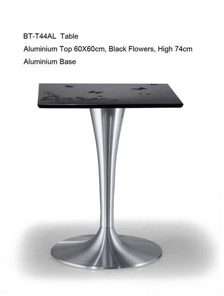 שולחן אלומיניום מרובע - היבואנים